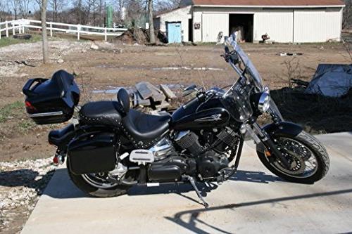 New Saddle bags Saddlebags Fit Kawasaki Vulcan