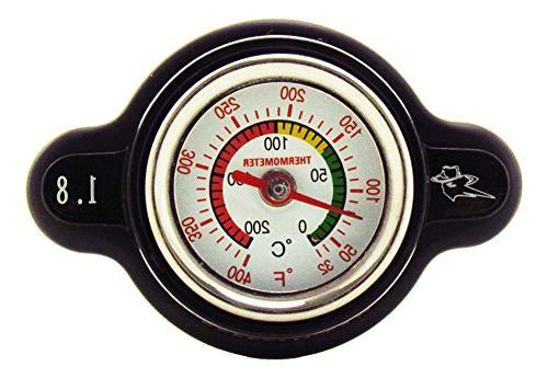 Outlaw Racing OR3126 High Pressure Temperature Gauge Radiato