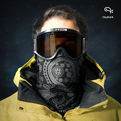 Paisley Polyester Multifunctional Seamless for Motorcycle Ski