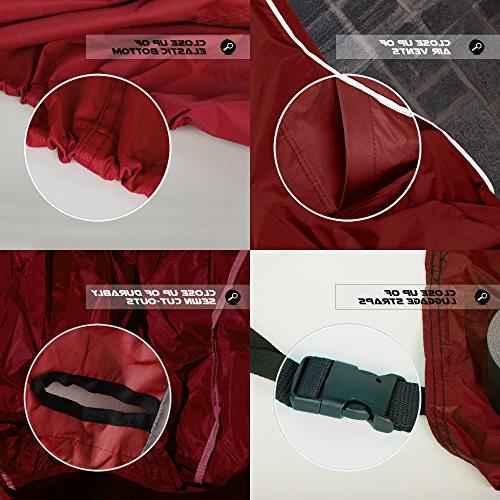 Motorcycle Cover. Season w/Soft Screen fabric that Durable & Long Sportbikes