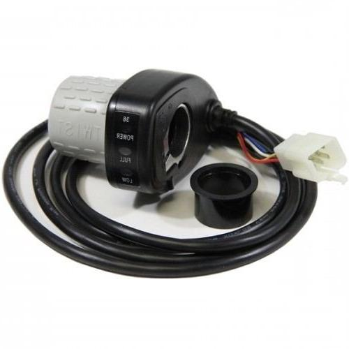- Premium Grip Throttle for Volt MX500 and MX650 Motorcycle - 6-Wire Part W13114501043