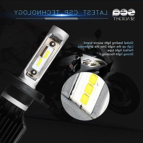 SEALIGHT Headlight Bulbs Kit, DOT Beam