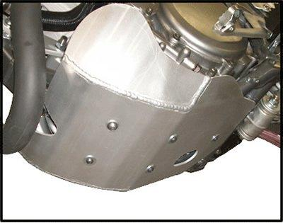 """Suzuki DR-Z 400 Skid Plate Constructed with 3/16"""" 5052 H-32"""