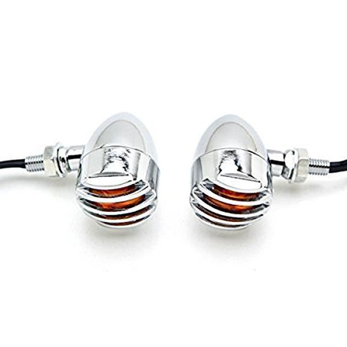 TASWK Heavy Motorcycle Bulb Indicators Blinkers Lights for Davidson a Pair