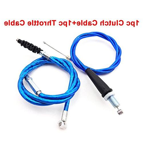 TC-Motor Blue Cable For Chinese Dirt Bike SSR Lifan BSE YX YCF