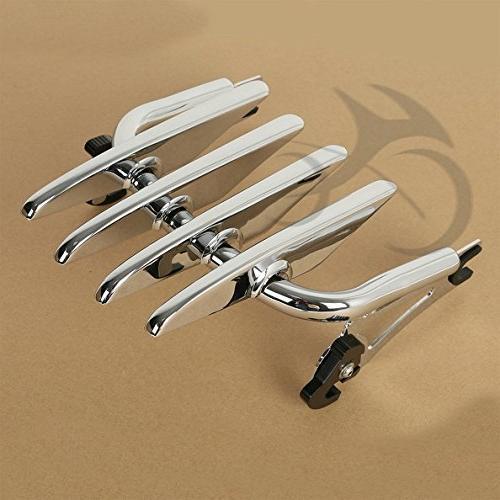 TCMT Motorcycles Chrome Luggage Rack&Backrest Bar For Road King Glide