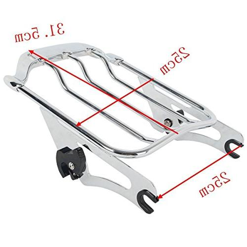 TCMT Chrome Air Luggage Mounting for Harley
