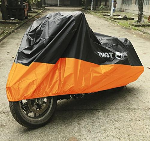 TCMT Motorcycle Waterproof Rain Protector For Harleys