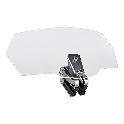 Universal Motorcycle Adjustable Extension Deflector Windscre