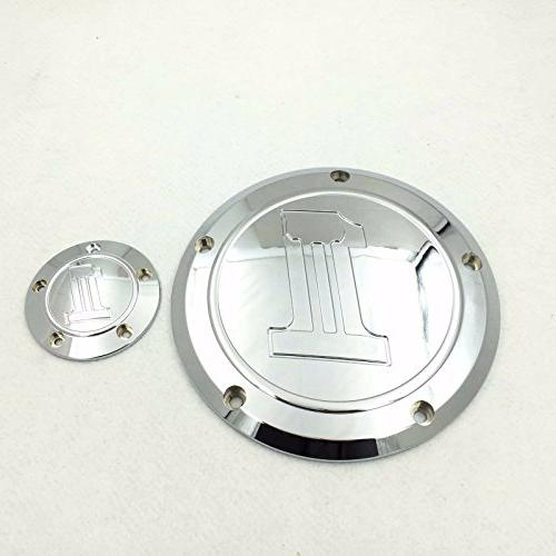 SMT Motorcycle Skull Derby Timer Cover Air Cleaner Trim For Harley Dyna King Electra Glide XL 1200C
