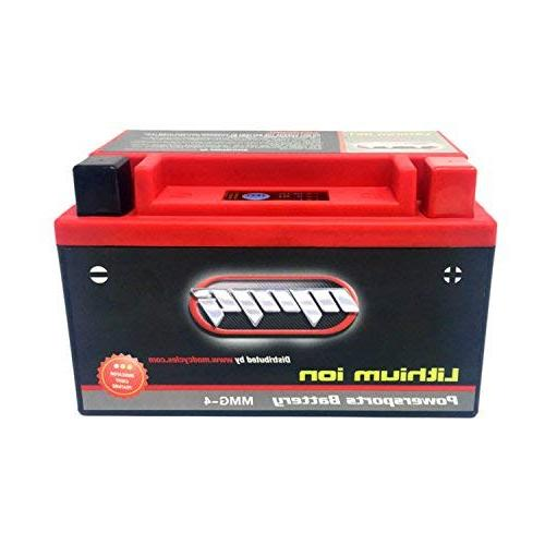 YTZ10S Sealed Powersports Battery 300 CCA - Free, No Spills, Fully Charged Ready to Use