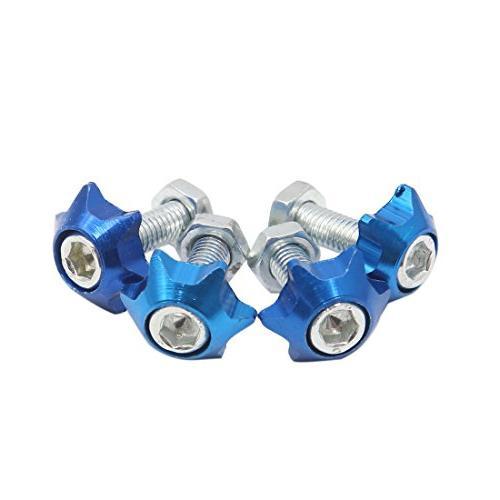 a17030700ux0256 4pcs blue 6mm thread diameter motorcycle