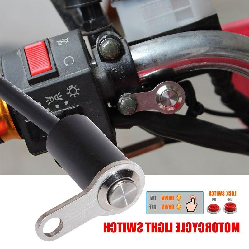 Black Aluminum Alloy Headlight <font><b>Motorcycle</b></font> Switch <font><b>Waterproof</b></font> <font><b>Motorcycles</b></font> <font><b>Parts</b></font>
