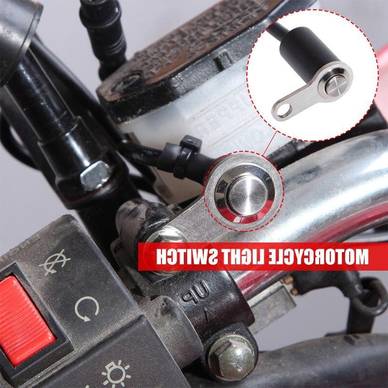 black aluminum alloy headlight font b motorcycle