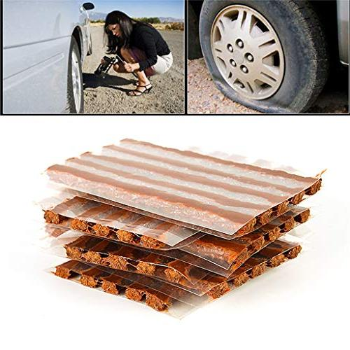 Autone 10Pc Tire Repair for Car Motorcycle Rubber