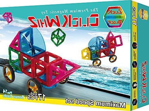 Click Whiz 3D Magnetic Building Parts Maximum Speed