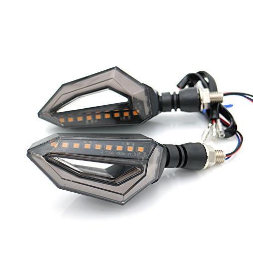 evomosa Universal Turn Lights Front Rear Lights Motorbike Harley Cruiser Honda Suzuki