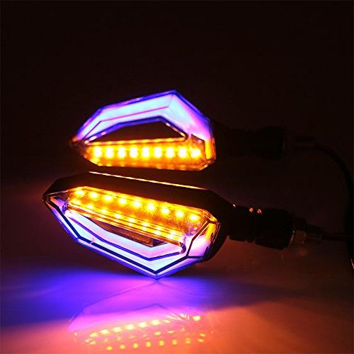 evomosa 12 Turn Signal Front Rear Lights Motorbike Motorcycle Honda Kawasaki Suzuki