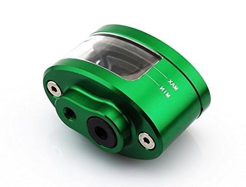 green motorcycle racing parts cnc billet front