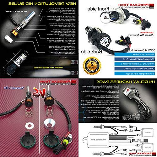 Heavy H4 Hi/Lo Hight Xenon Conversion Headlight 12V Car Motorcycle