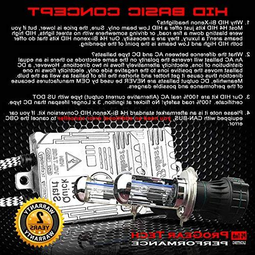 Heavy Duty 55W Hi/Lo Bi-Xenon Beams Hight Xenon Conversion Kit Car Motorcycle