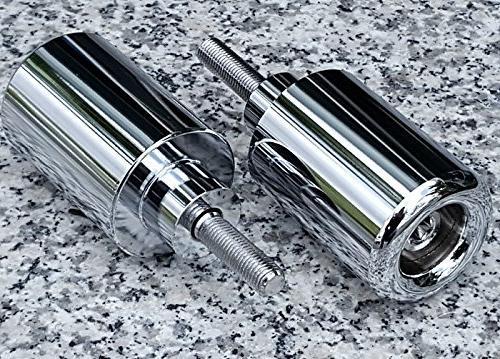 i5 2000-2003 Honda CBR 929RR 954RR CHROME FRAME SLIDERS