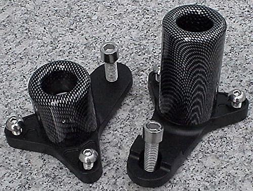i5 Carbon No-Cut Frame Sliders for Suzuki GSXR600 GSXR750 GS