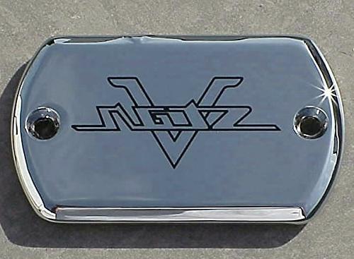 i5 Chrome Front Brake Fluid Cap for Yamaha V-Star 650 950 11