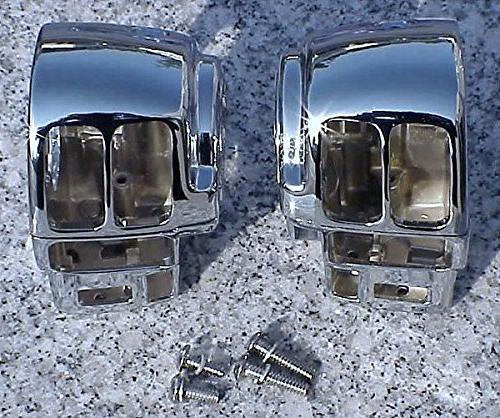 i5 Chrome Switch Housings for Harley Davidson Electra Glide