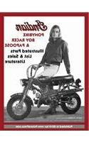 INDIAN PONYBIKE, BOY RACER & PAPOOSE ILLUSTRATED PARTS LIST