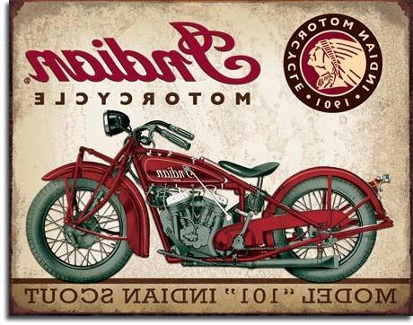 Indian - Motorcycles Since Authorized Indian Parts and Service, Indian