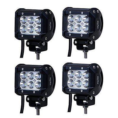 LED Nilight 18W 1260lm Spot Fog Off