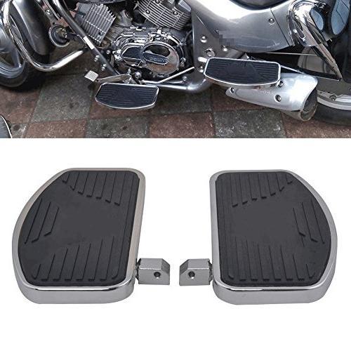 motorcycle floorboard front rear passenger foot pegs