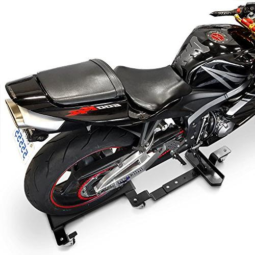 Venom Motorcycle Mover Dolly Cruiser Side Stand for Harley D