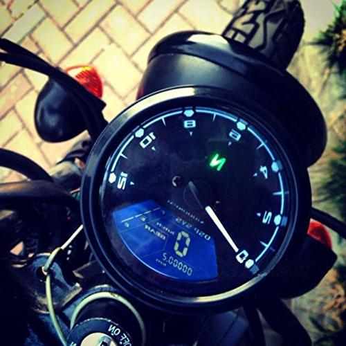 rpm Tachometer for 4 stroke Motorcycle