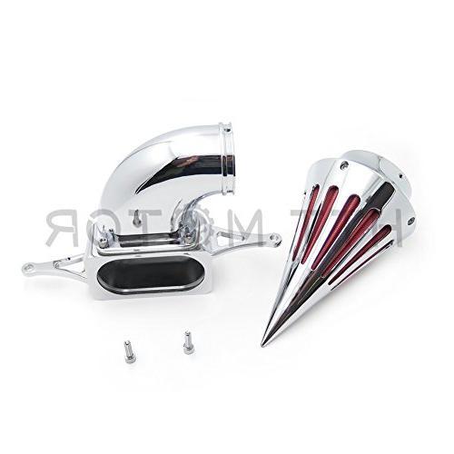 SMT MOTO- Spike Air For 2002-2010 Yamaha Roadstar Midnight Chrome