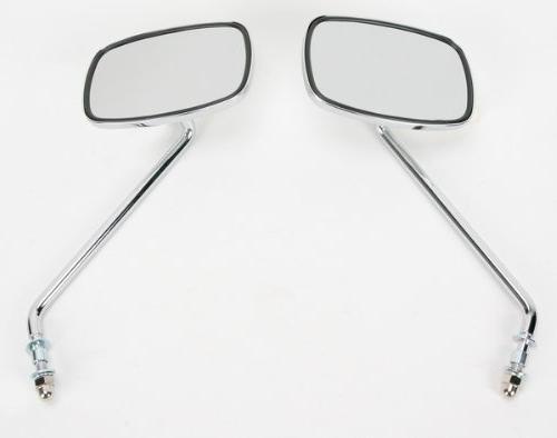 universal screw in mount mirror long stem