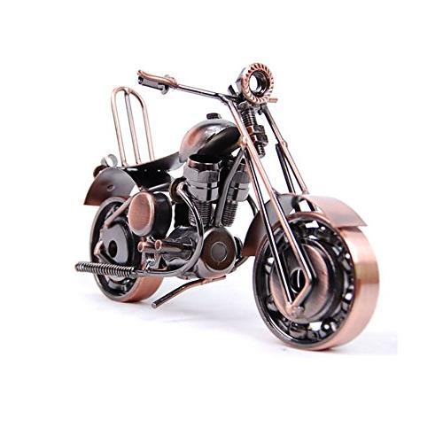 vintage motorbike chainwheel model handcrafted