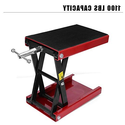 YITAMOTOR Wide Dilated Jack Hoist Stand-1100 Capacity