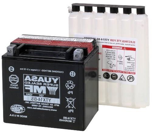 ytx14 bs maintenance battery