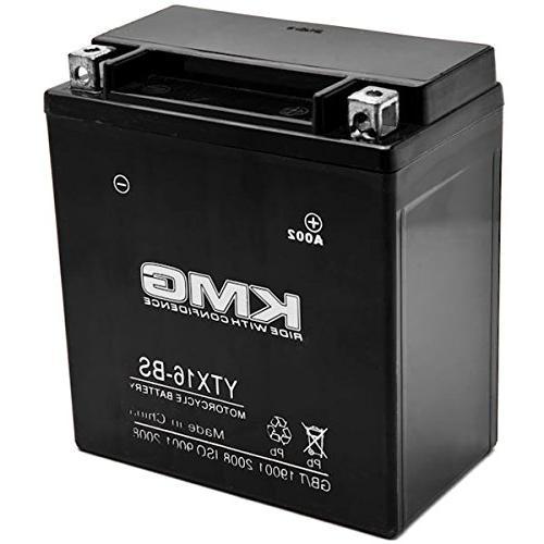 ytx16 bs sealed maintenace free 12v battery