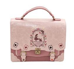 HYJHDD Lady's Shoulder Bag Shoulder Bag Alice in Wonderland