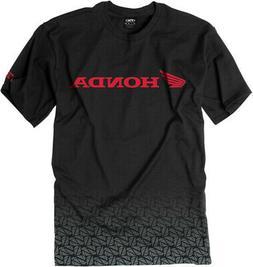 Factory Effex Licensed Honda Fade T-Shirt Black Mens All Siz