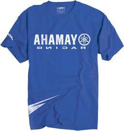 Factory Effex Licensed Yamaha Racing Strobe T-Shirt Blue Men