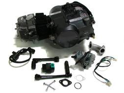 TMS Lifan 125cc 1P52FMI-K Engine Dirt Bike Motor Carb Comple