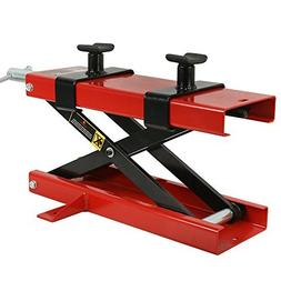 ZENY 1100 LB Motorcycle Center Scissor Lift Jack Hoist Stand