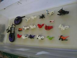 Lego motorcycle parts lot