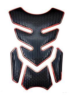 motorcycle tank gas metallic luster protector pad