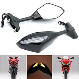 Alpha Rider Motorcycle Turn Signal LED Blinker Integrated Sp