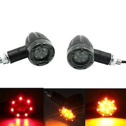 Alpha Rider Motorcycle Universal 8mm LED Turn Signal Brake l